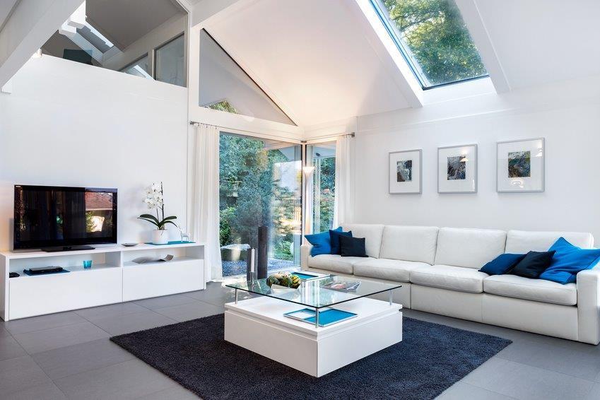 Home Staging in einem Wohnzimmer