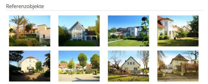 Referenzobjekte von Blickfang Immobilien auf Makler-Empfehlung.de